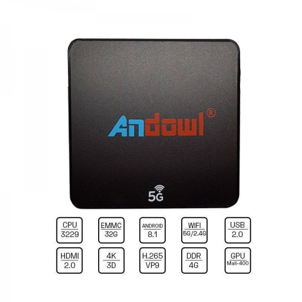 Tv Box Q-M6 Android 8.1 32 GB