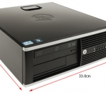 PC HP 8200 sff intel core i3 4gb 250gb dvd-rw wind